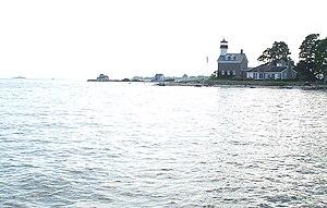 Noank, Connecticut - Morgan Point Light in Noank