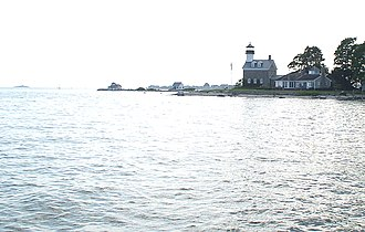 Noank, Connecticut - Morgan Point Light in Noank