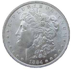 Picture of the Morgan Silver Dollar
