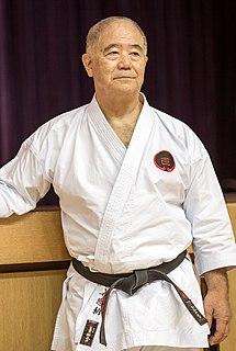 Morio Higaonna martial artist