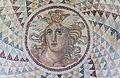 Mosaic floor opus tessellatum detail Gorgone NAMA Athens Greece.jpg