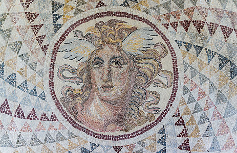 Roman mosaic Medusa