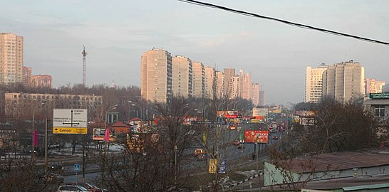 Лобачевского в сторону метро «Проспект Вернадского» bdda7eac0c6