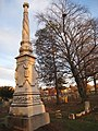 Moses Yale Beach monument - Wallingford, CT.JPG