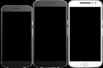 Moto G4 - Image: Moto G4 Play Moto G4 and Moto G4 Plus