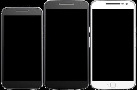 48a3a27c069 De izquierda a derecha Moto G4 Play, Moto G4 y Moto G4 Plus.