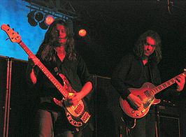 "5 mei 2006, Skaters Palace, Münster. (links: Bent Sæther, rechts: Hans Magnus ""Snah"" Ryan)"