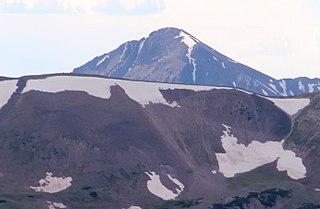 Mount Richthofen mountain in Colorado, USA