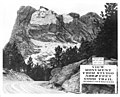 Mount Rushmore National Memorial - welcome sign during construction.jpg