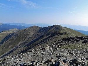 Mount Walter (New Mexico) - Mount Walter from Wheeler Peak