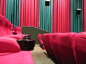 Interior of Cinema 9, Hoyts movie theater, Wes...