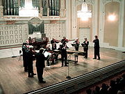 Concert in the Mozarteum, Salzburg