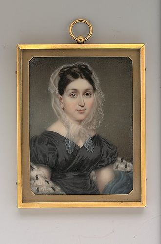 William Paterson (judge) - Paterson's eldest daughter, Cornelia Bell Paterson Van Rensselaer (1780–1844), painted by Nathaniel Rogers, 1825