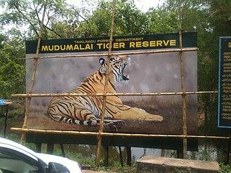 Mudumalai National Park - Entrance to Mudumalai tiger reserve