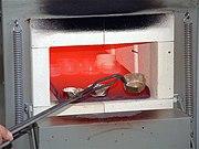 Muffelofen zur Mineralstoffbestimmung bei 900°C