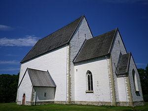 Muhu St. Catherine's Church - Image: Muhu kirik