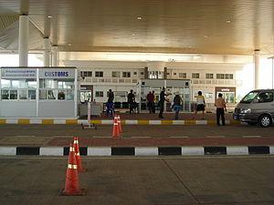 Second Thai–Lao Friendship Bridge - Checkpoint near the bridge (Thai side)