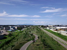 Muroran-main-line-site-green-belt general-view.JPG