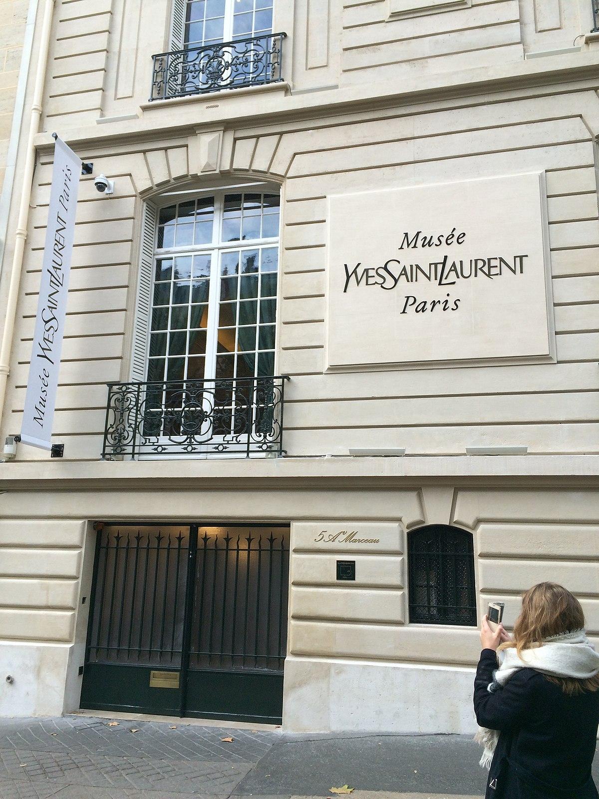 Mus e yves saint laurent de paris wikip dia - Musee yves saint laurent paris ...