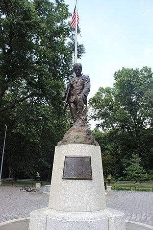 Forest Park (Queens) - My Buddys Statue. Forest Park. Queens New York