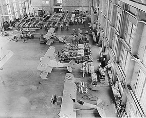 Naval Aircraft Factory - N3N production in 1937