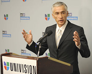 Jorge Ramos (news anchor) - Ramos speaker for NASA'S Hispanic Education Campaign, January 2010