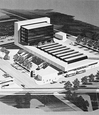 Buffalo Metropolitan Transportation Center - Artist's rendering