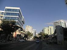 Viale Makariou a Nicosia.