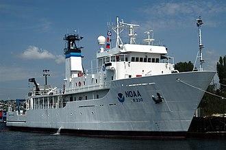 USNS Indomitable (T-AGOS-7) - Image: NOAA Ship Mc Arthur II NOAA Photo