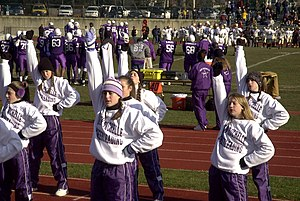 New Rochelle High School - Image: NRHS cheerleaders