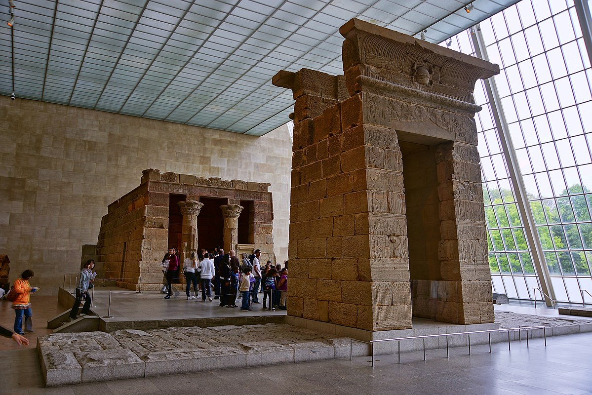 Temple of dendur wikipedia for Metropolitan mueseum of art