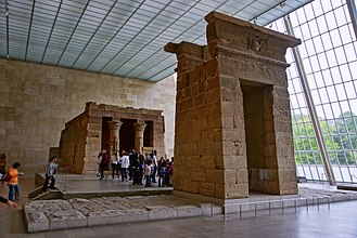 Temple of Dendur - The Temple of Dendur in the Metropolitan Museum of Art, New York