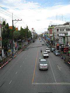Nakhon Si Thammarat City Municipality in Thailand