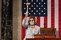 Nancy Pelosi as the 117th Congress Speaker.jpg