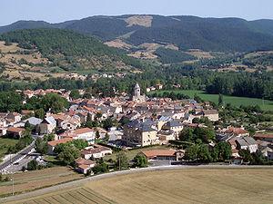 Nant, Aveyron - A general view of Nant