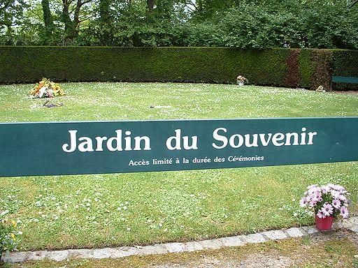 Nantes - Cimetière Parc - Jardin du souvenir
