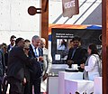 Narendra Modi and the Prime Minister of Israel, Mr. Benjamin Netanyahu visiting the Startup Exhibition and interacting with innovators and Startup CEOs at iCreate Center, at Deo Dholera Village, in Ahmedabad, Gujarat (1).jpg