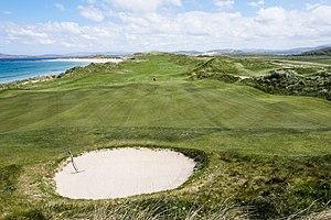 Narin, County Donegal - Image: Narin & Portnoo Golf Club 15th hole