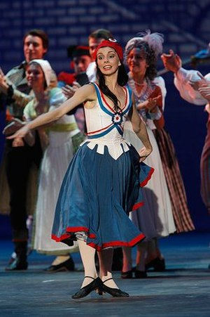 Natalia Osipova - Natalia Osipova in an extract from Flames of Paris, at the reopening gala of the Bolshoi Theatre 2011