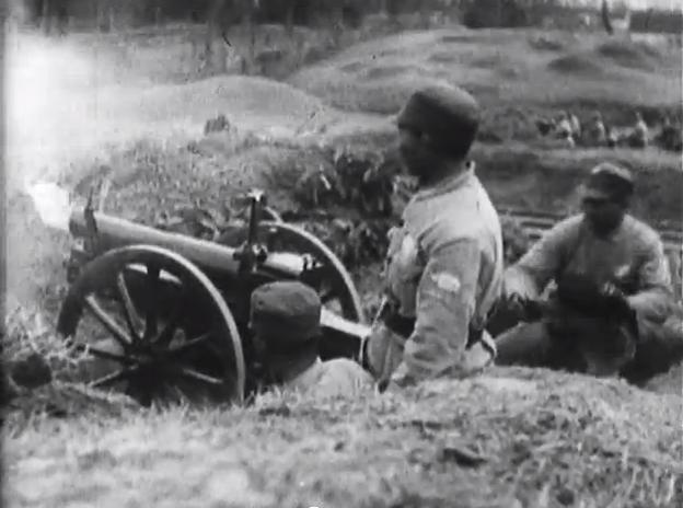 National Revolutionary Army artillery