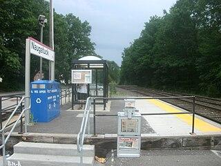 Naugatuck station railway station