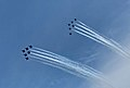 Navy Blue Angels and Air Force Thunderbirds Over Arlington (VA) May 1, 2020 (49871928891).jpg