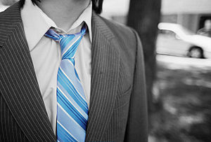 Necktie-colour-isolation