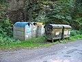 Nedamov, kontejnery na odpad.jpg
