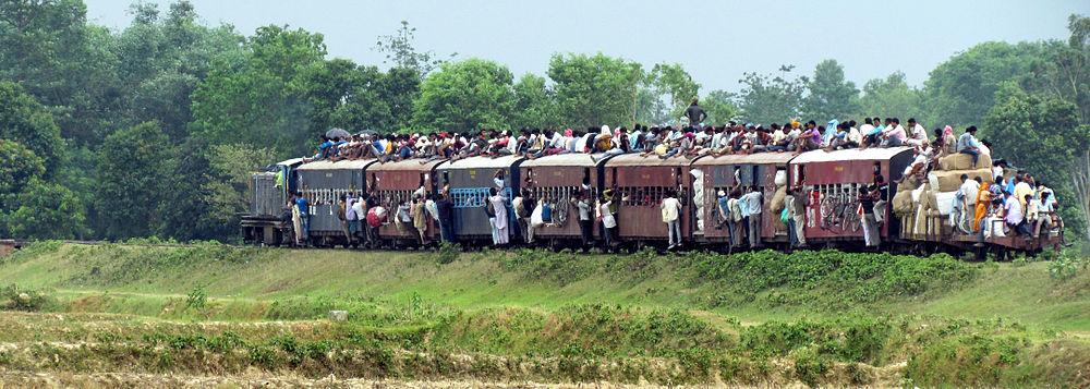 Janakpur Nepal  city photos : Train between Janakpur and Jainagar in the Nepal Terai, May 31, 2012
