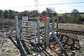 Network Rail access gate at Stoke Tunnel - geograph.org.uk - 367632.jpg