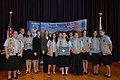 New Concord, Ohio, Girl Scout Troups 187 and 506 Honored with 2005 Take Pride in America Award, 09-29-2005 (5520929615).jpg