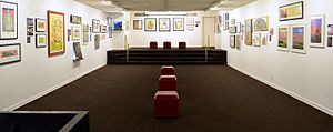 Society of Illustrators - The Museum of American Illustration, Main Upstairs Gallery