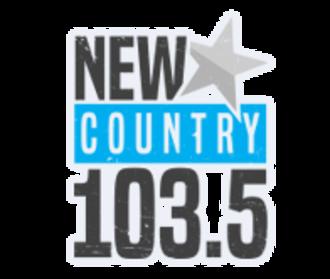 CKCH-FM - Image: Newcountry 1035logo