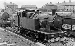 Brecon and Merthyr 0-6-2T locomotives class of Welsh 0-6-2T locomotives